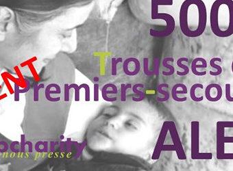Distribuer 5000 trousses premiers-secours