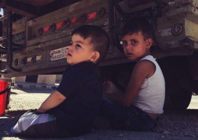 Enfants en Syrie
